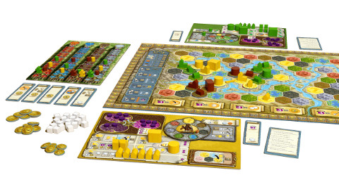 Terra Mystica While playing, Feuerland Spiele